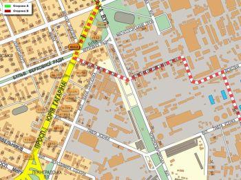 Карта - Троллы на Гагаріна пр-т(конструкция №4112)