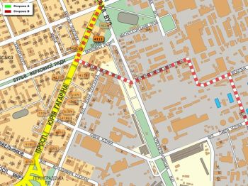 Карта - Троллы на Гагаріна пр-т(конструкция №4113)