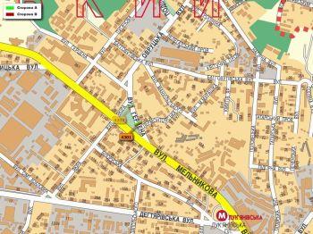 Карта - Троллы на Герцена вул.(конструкция №4301)