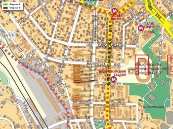Карта - Троллы на Горького вул.(конструкция №606)