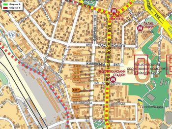 Карта - Троллы на Горького вул.(конструкция №607)
