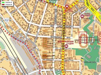 Карта - Троллы на Горького вул.(конструкция №608)