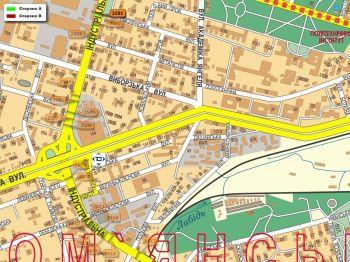 Карта - Троллы на Індустріальна вул.(конструкция №2501)