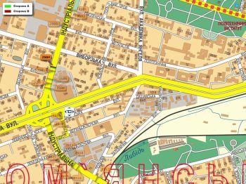 Карта - Троллы на Індустріальна вул.(конструкция №2504)