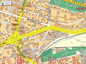 Карта - Троллы на Індустріальна вул.(конструкция №2505)