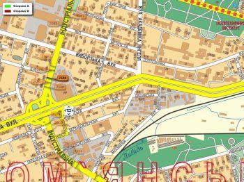 Карта - Троллы на Індустріальна вул.(конструкция №2506)
