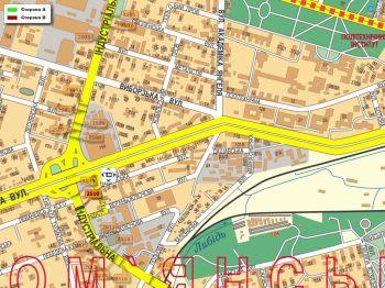 Карта - Троллы на Індустріальна вул.(конструкция №2510)