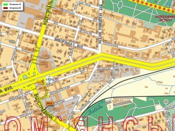 Карта - Троллы на Індустріальна вул.(конструкция №2511)