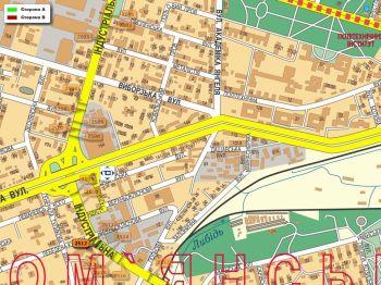 Карта - Троллы на Індустріальна вул.(конструкция №2512)