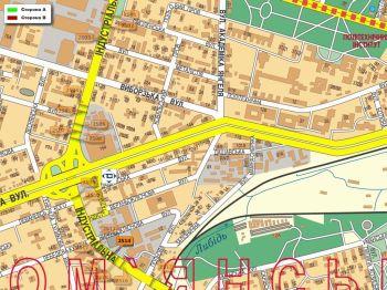 Карта - Троллы на Індустріальна вул.(конструкция №2514)