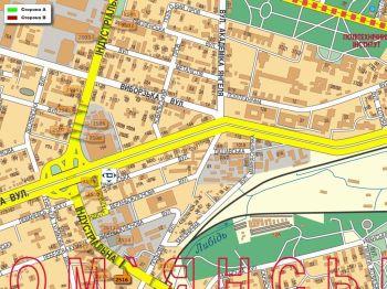Карта - Троллы на Індустріальна вул.(конструкция №2516)