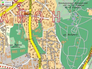 Карта - Троллы на Кіквідзе вул.(конструкция №2601)