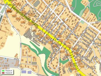 Карта - Троллы на Червонозоряний пр-т(конструкция №5401)