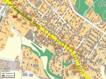 Карта - Троллы на Червонозоряний пр-т(конструкция №5403)