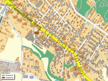 Карта - Троллы на Червонозоряний пр-т(конструкция №5409)