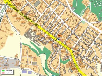 Карта - Троллы на Червонозоряний пр-т(конструкция №5414)
