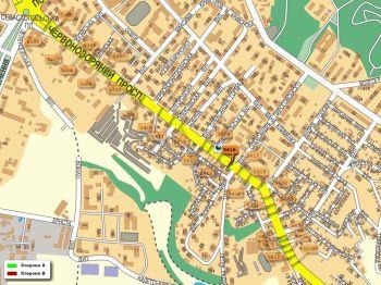 Карта - Троллы на Червонозоряний пр-т(конструкция №5416)