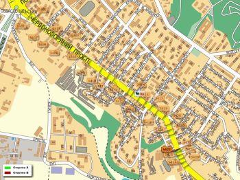 Карта - Троллы на Червонозоряний пр-т(конструкция №5423)