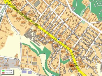 Карта - Троллы на Червонозоряний пр-т(конструкция №5425)