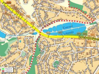 Карта - Троллы на Червонозоряний пр-т(конструкция №5429)