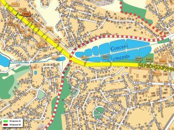 Карта - Троллы на Червонозоряний пр-т(конструкция №5432)