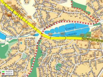 Карта - Троллы на Червонозоряний пр-т(конструкция №5433)