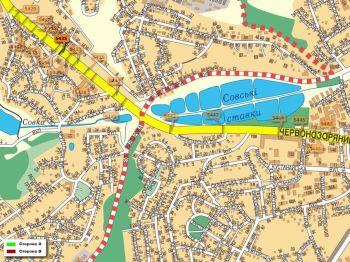 Карта - Троллы на Червонозоряний пр-т(конструкция №5435)