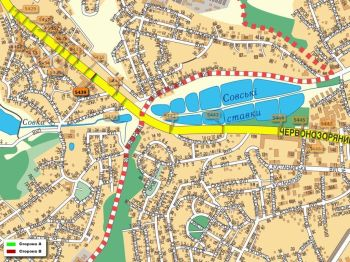 Карта - Троллы на Червонозоряний пр-т(конструкция №5439)