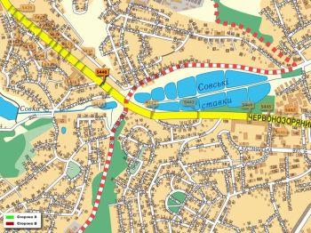 Карта - Троллы на Червонозоряний пр-т(конструкция №5440)