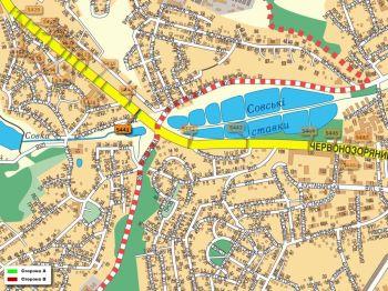 Карта - Троллы на Червонозоряний пр-т(конструкция №5441)