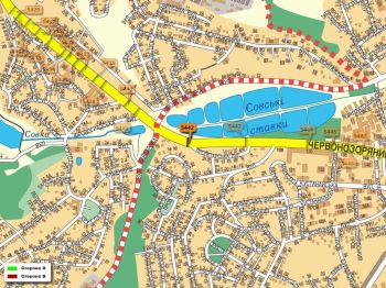 Карта - Троллы на Червонозоряний пр-т(конструкция №5442)