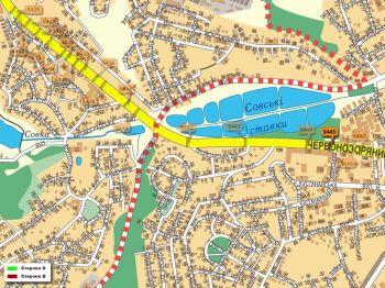 Карта - Троллы на Червонозоряний пр-т(конструкция №5445)