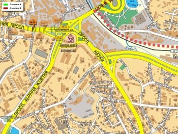 Карта - Троллы на Червонозоряний пр-т(конструкция №5450)