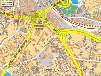 Карта - Троллы на Червонозоряний пр-т(конструкция №5451)