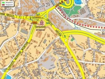 Карта - Троллы на Червонозоряний пр-т(конструкция №5454)