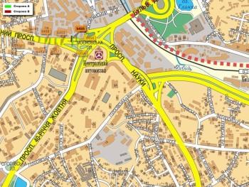 Карта - Троллы на Червонозоряний пр-т(конструкция №5455)
