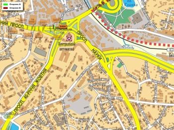 Карта - Троллы на Червонозоряний пр-т(конструкция №5456)