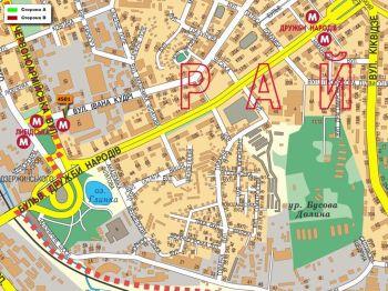 Карта - Троллы на І.Кудрі вул.(конструкция №4501)