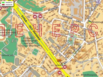 Карта - Троллы на Кутузова вул.(конструкция №1201)