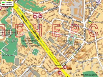 Карта - Троллы на Кутузова вул.(конструкция №1202)