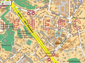 Карта - Троллы на Кутузова вул.(конструкция №1204)