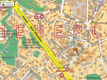 Карта - Троллы на Кутузова вул.(конструкция №1206)