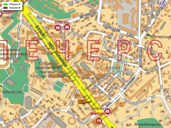 Карта - Троллы на Л.Українки б-р(конструкция №1321)