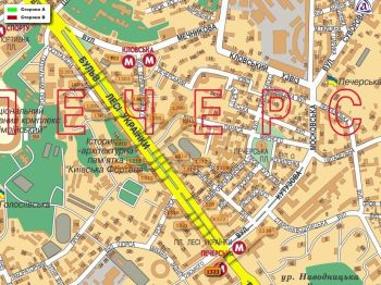 Карта - Троллы на Л.Українки б-р(конструкция №1323)