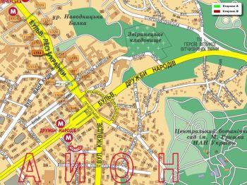 Карта - Троллы на Л.Українки б-р(конструкция №1331)
