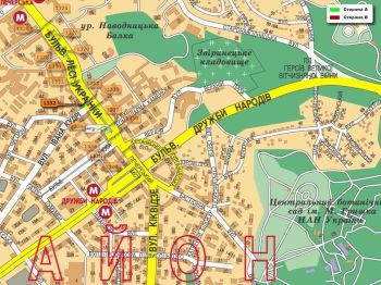 Карта - Троллы на Л.Українки б-р(конструкция №1332)