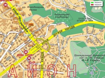 Карта - Троллы на Л.Українки б-р(конструкция №1335)