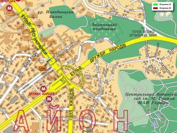 Карта - Троллы на Л.Українки б-р(конструкция №1336)