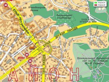 Карта - Троллы на Л.Українки б-р(конструкция №1340)