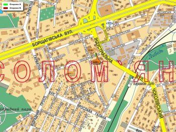 Карта - Троллы на Лебедєва-Кумача вул.(конструкция №6801)